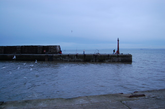 Anglers at Anstruther