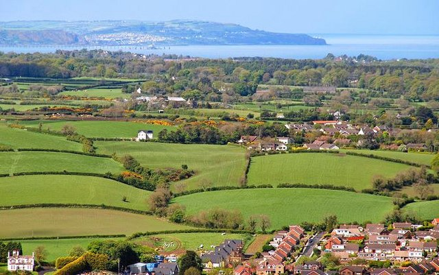 The view from Scrabo (2)
