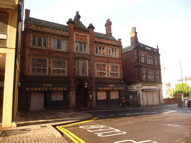 Sheffield: the Market Tavern, Exchange Street
