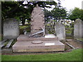 TQ4683 : The Family Vault of Robert Hewett at Rippleside Cemetery by Adrian Cable