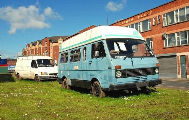 Abandoned vans, Belfast (7)