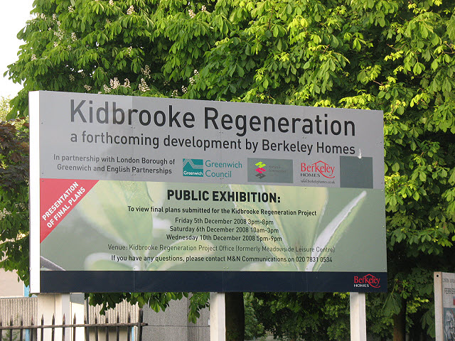 Signs of regeneration - Kidbrooke