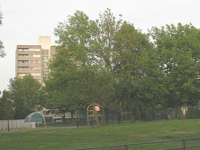 Playground on Moorhead Way