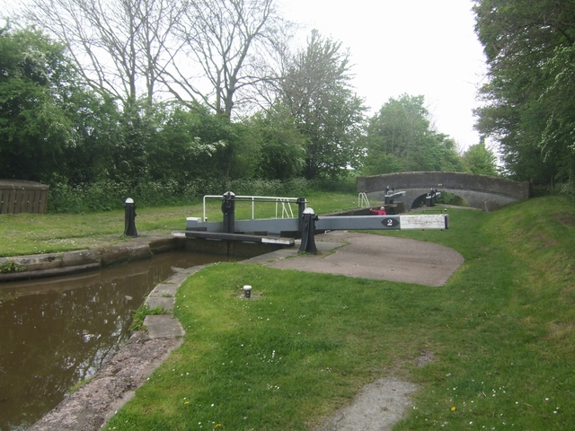 Lock No 2 - Adderley Locks- Shropshire Union