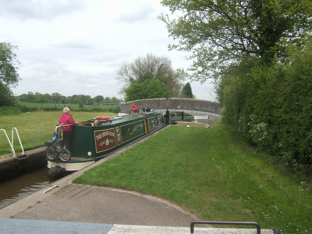 Lock No 4 - Adderley Locks - Shropshire Union