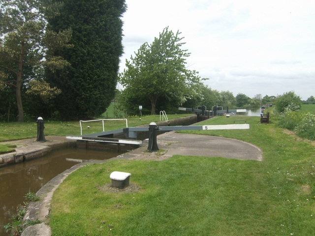 Lock No 5 - Adderley Locks - Shropshire Union