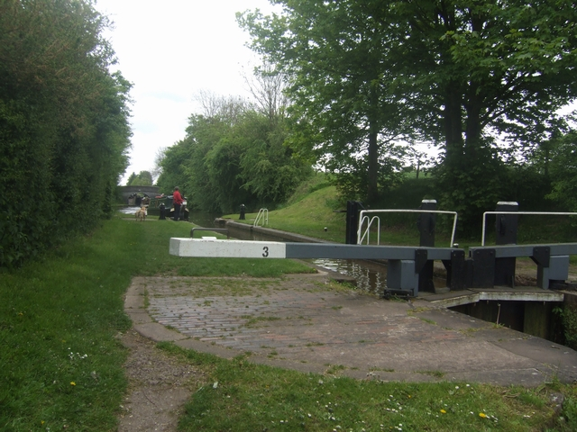 Lock No 3 - Adderley Locks - Shropshire Union