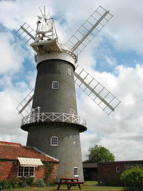 Great Bircham Tower Mill C Evelyn Simak Geograph