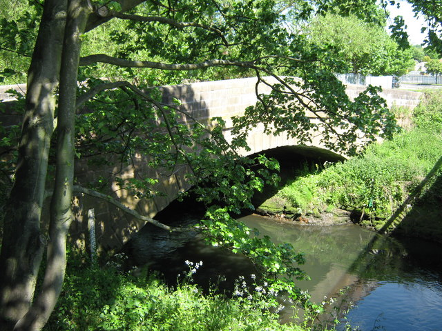 Stone Bridge Over River Tame, Hamstead Hill.