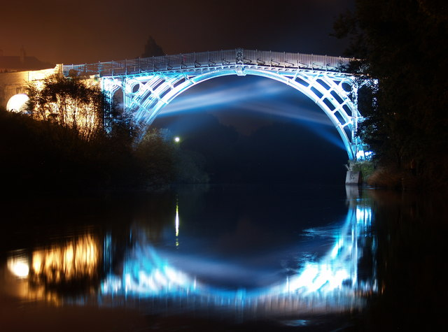 The Iron Bridge, Illuminated