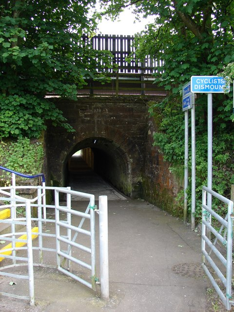Gretna Green Station Tunnel