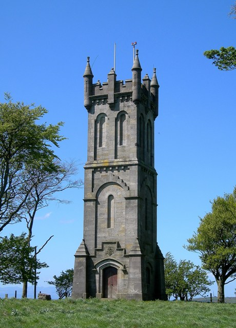 The Wallace Monument On Barnweil Hill
