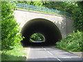 TQ5369 : M25 Motorway over Button Street by David Anstiss