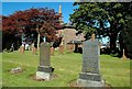This is quite a large churchyard with a number of interesting gravestones.  The church is an imposing building and a prominent local landmark.