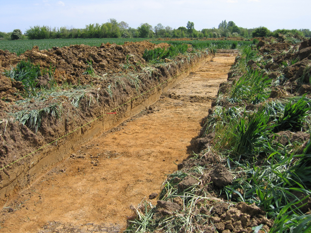 Archaeological dig, Rectory Farm, Brampton, Cambs