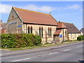 TL2866 : Hilton Methodist Church by Adrian Cable