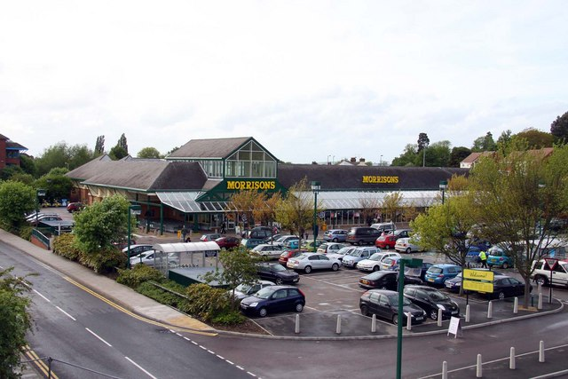 Morrisons superstore in Aylesbury