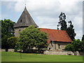 TQ6452 : St Dunstan's Church, Church Road, West Peckham, Kent by Oast House Archive