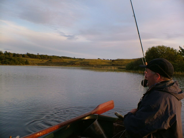 Fishing on Loch nan Cadhan - Isle of Islay