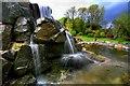 NX7560 : Waterfall In Threave Gardens : Week 20
