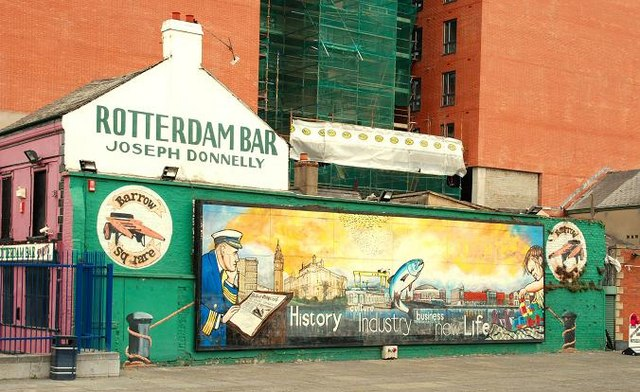 Mural, Sailortown, Belfast (1)