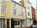 TQ8209 : 76, 77 & 77a High Street, Hastings by Oast House Archive
