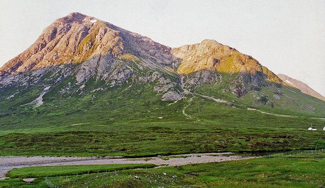 Buachaille Etive Mor from near Altnafeadh