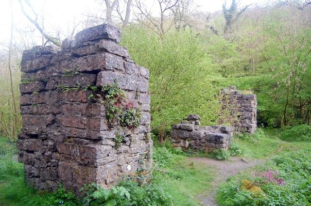 Aqueduct Pillars, Lathkill Dale