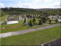 N1891 : Ballinamuck Cemetery by Oliver Dixon