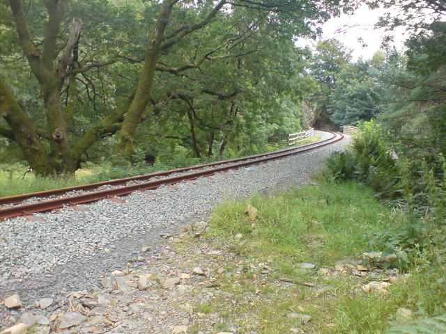 The Welsh Highland Railway near Nantmor