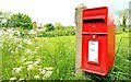J2964 : Letter box, Hillhall, Lisburn by Albert Bridge