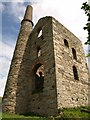SW7343 : Magor's pumping engine house, Wheal Unity Wood Mine by Derek Harper