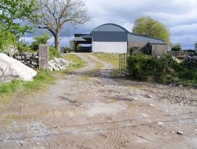 Farm buildings, Lisheeneenaun West Townland