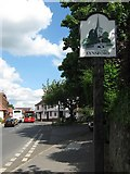 TQ5465 : Eynsford Village Sign by David Anstiss