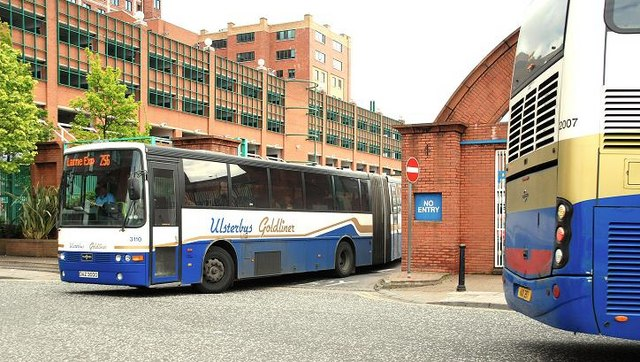 Buses, Glengall Street, Belfast (4)