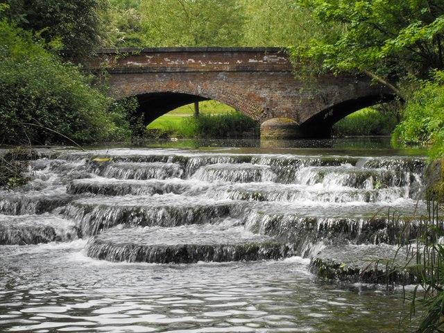 The 'Flosh' & Lords Bridge, Buckingham