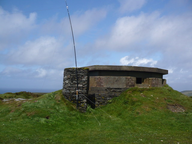 WWII Pillbox on Mull Hill