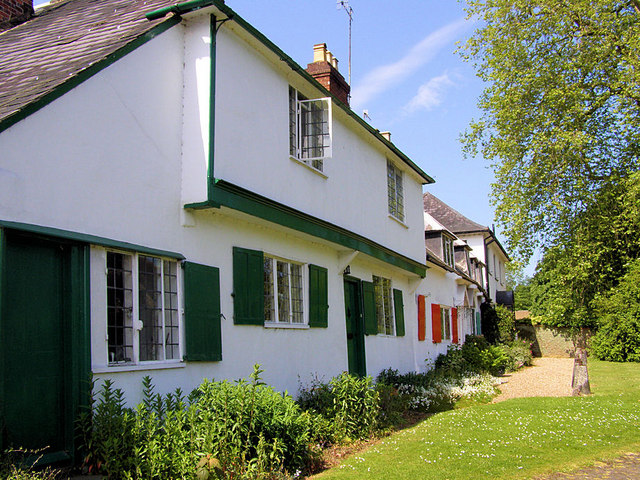 Cottages in the Street, Shalford
