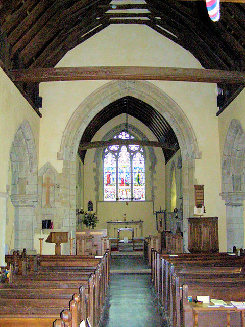 St Mary and All Saints Church Interior, Dunsfold