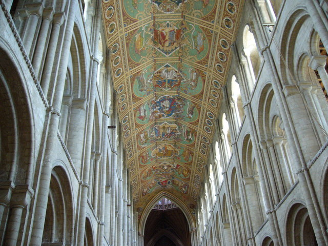 The Painted Ceiling, Ely Cathedral