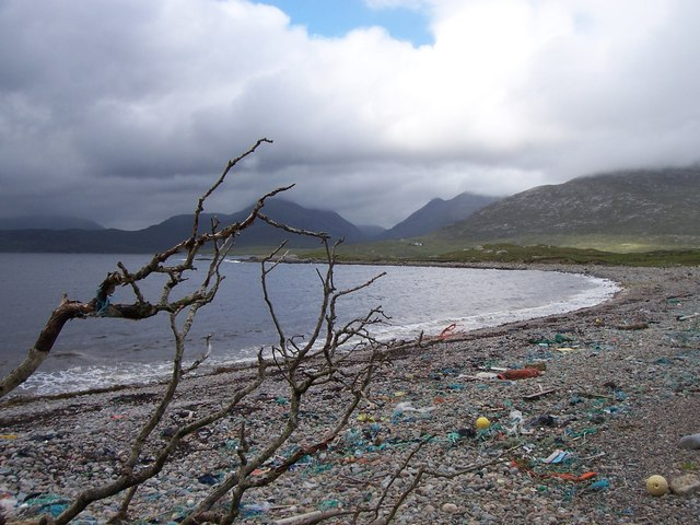 Looking north across Bagh Stithcliet, Harris