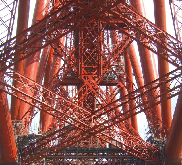 The guts of the Forth Bridge