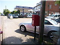 SY9495 : Lytchett Matravers: postbox № BH16 17, High Street by Chris Downer