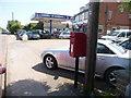 SY9495 : Lytchett Matravers: postbox № BH16 17, High Street by Chris Downer
