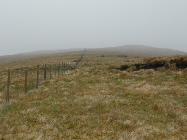 Fence on Tullich Hill