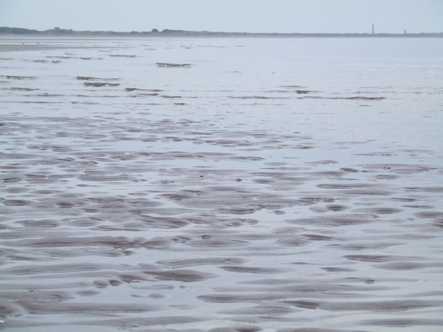 The beach at Monifieth