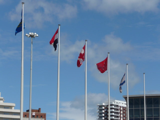 Bournemouth : International Flags