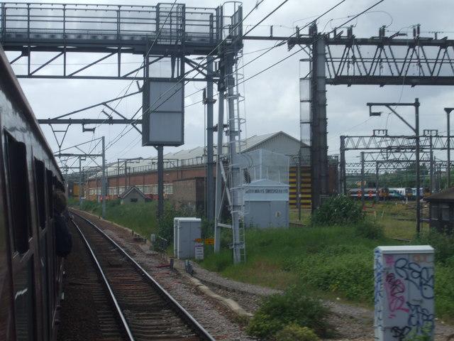 Ilford train maintenance depot