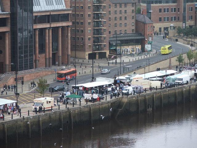 Newcastle Upon Tyne Sunday Market
