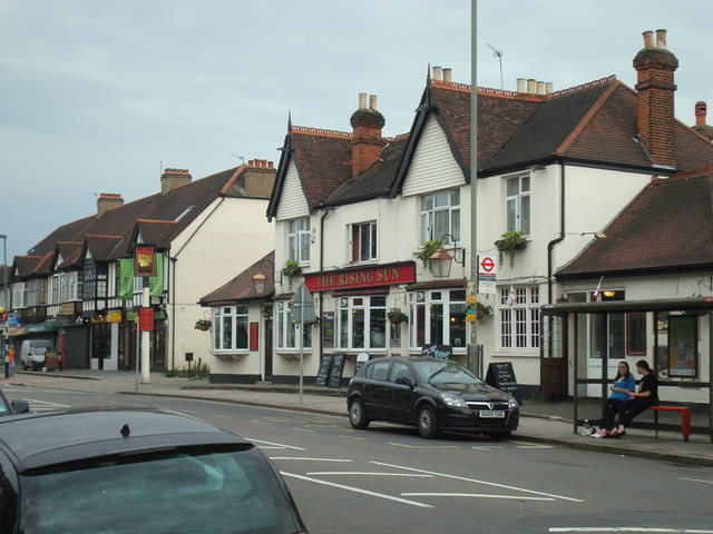 The Rising Sun Public House, Upper Elmers End